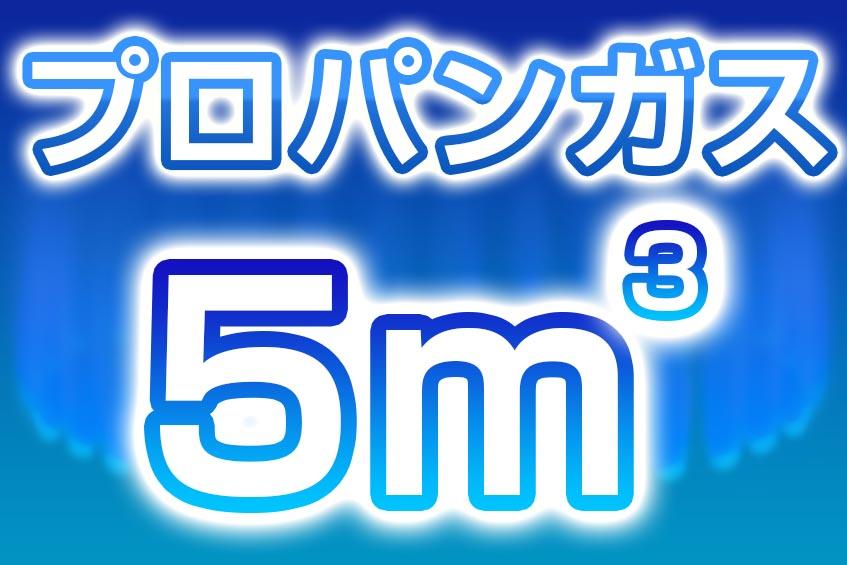 プロパンガス 5m3