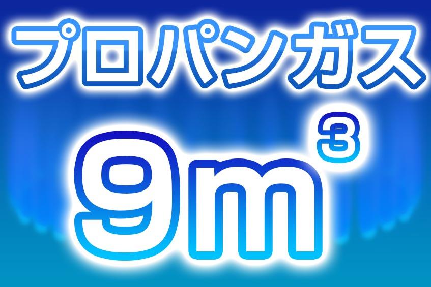 プロパンガス 9m3