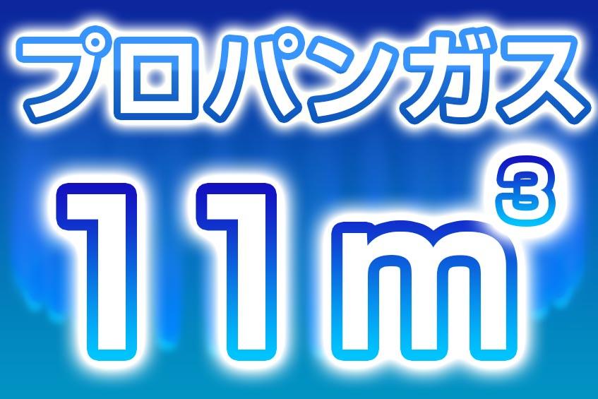 プロパンガス 11m3