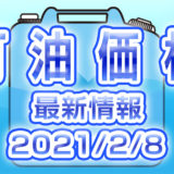 灯油 最新価格 2021/2/8