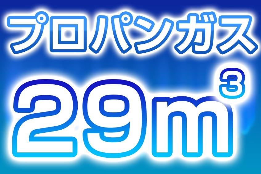プロパンガス 29m3