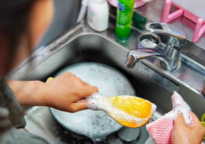 節約 食器洗い